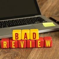 Negative review