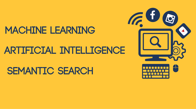 Evolution of Marketing Artificial Intelligence Machine Learning Semantic Search