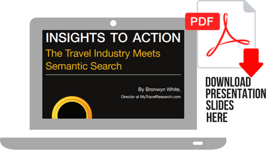 The Travel Industry Meets Semantic Search